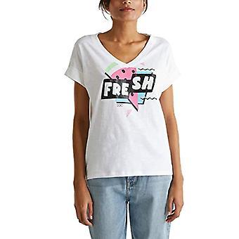 edc by Esprit 040cc1k322 T-Shirt, 101 / White 2, XS Woman