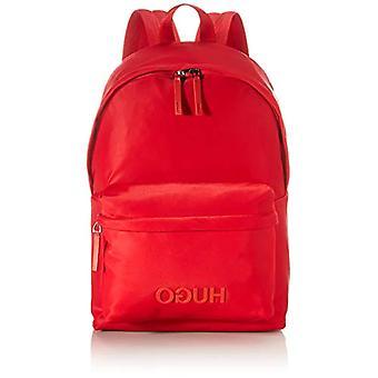 HUGO Record_Backpack, תיק גב לגברים, אדום בוהק620, ONESI