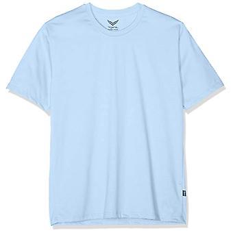 Trigema 637202 T-Shirt, Blue (Ice Blue/Melange 240), X-Large Men