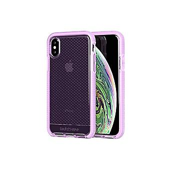 Tech 21 Evo Check Protective Case for Apple iPhone X/iPhone XS - Purple Orchid