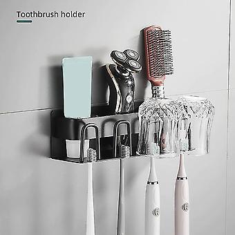 26cm Mural Mount Toothbrush Holder Salle de bain Rangement Toothbrush Holder| Porte-brosses à dents
