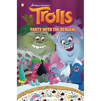 """Trolls Graphic Novels #3 """"Party with the Bergens""""  Hardcover"""
