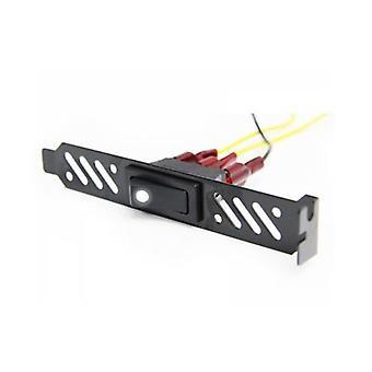 Monsoon PCI Halterung mit weißer LED CCFL Schalter