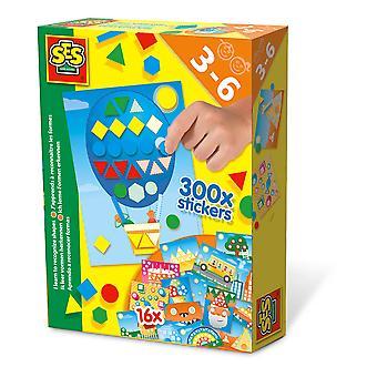 SES Creative - Kinderen I Learn to Recognize Shapes Set (Meerdere kleuren)