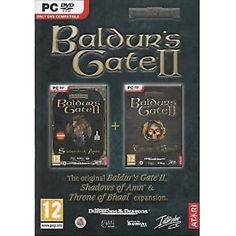 Baldur's Gate 2 II Shadows Of Amn Game PC