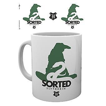 Harry Potter Sorted Slytherin Mug