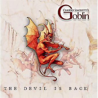 Claudio Simonettis troll - Djävulen är tillbaka vit vinyl