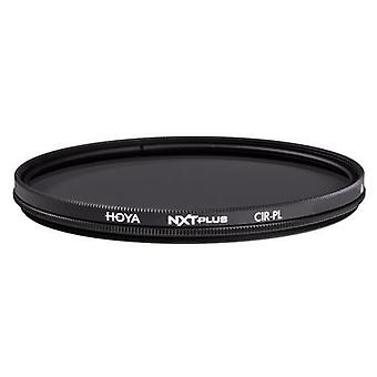 Hoya nxt plus circular polarizer - polished clear glass - water proof top-coat (37mm)