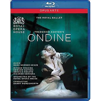 H.W. Henze - Ondine-Comp Opera [Blu-ray] USA import