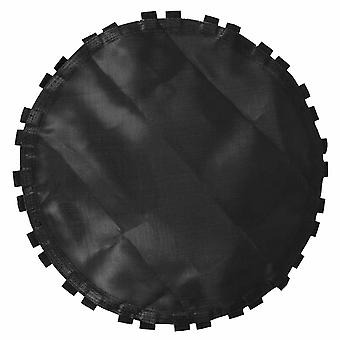 1pc Black Trampoline Replacement Jumping Mat Trampoline Round Mat With Hooks