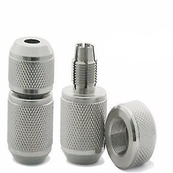 Arrive Diameter Stainless Steel Tattoo Grip Ribbed Tattoo Grips
