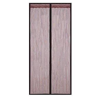 Amovible Auto-adhésif Fenêtre Écran Porte Rideau Velcro Magnet (80 * 210cm)
