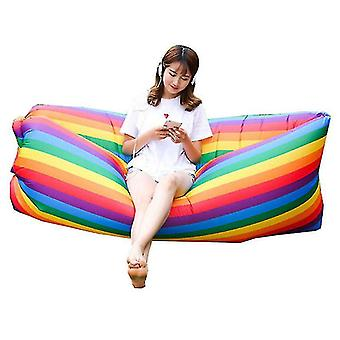 Inflatable Lounger Air Sofa Hammock Portable Water Proof Couch For Backyard