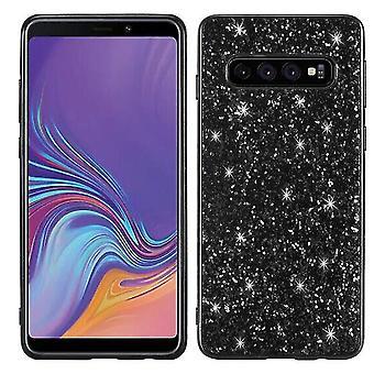 Samsung Galaxy A8 brillante duro Shell caso - Negro