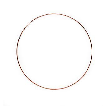 178mm (7in) Miedziany metalowy pierścień do rzemiosła - Wieniec & Flower Hoop