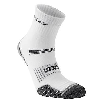 Hilly Twin Skin Anklet Socks - White/Grey Marl