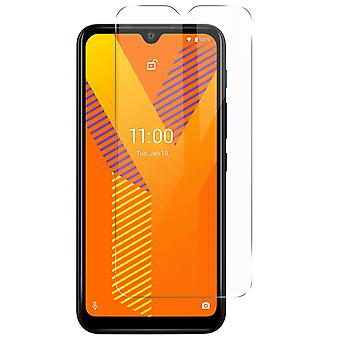 Tempered Glass Wiko Y62 Hardness 9H Anti-tracking Ultra-thin Clear