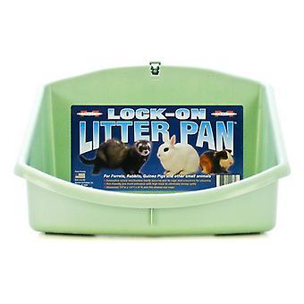 """Marshall Ferret Lock-On Litter Pan - 14""""L x 14""""W x 9""""H"""