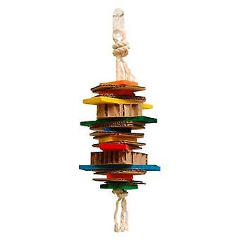 """Zoo-Max Jumpy Bird Toy - Small 12""""L x 4.5""""W"""