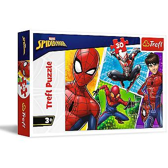 Spiderman Jigsaw Puzzle 30 Pieces