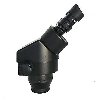 Telescopes continue 7-45x binocular stereo microscope industrial microscope zoom magnification head white