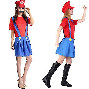 Super Mario Bros Unisexe Adulte & Enfants Cosplay Fancy Dress Outfit Costume