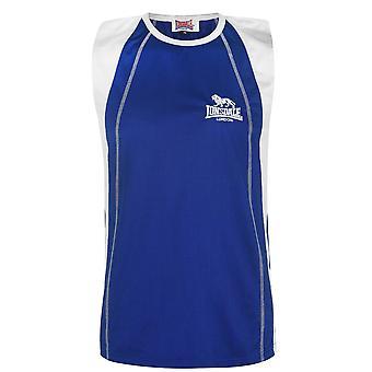 Lonsdale Mens Performance Vest Crew Neck Sleeveless Lightweight Tank Tee Top