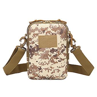Multifunctional Leisure Satchel Outdoor Sports Cycling And Running One Shoulder Hanging Bag Camouflage Tactical Tablet Computer Bag