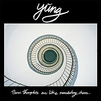 Yung - These Thoughts Are Like Mandatory Chores [Vinyl] USA import
