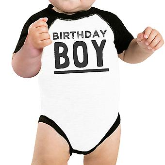 بيبي بوي البيسبول الأسود ملامستهما طفل لطيف عيد ميلاد هدية تي شيرت فكرة