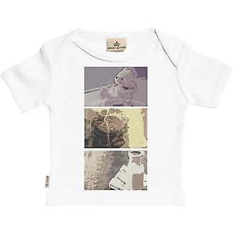 Spoilt Rotten Baby Squares Short Sleeve Baby T-Shirt