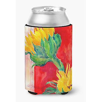 Carolines Treasures  6111CC Flower - Sunflower Can or Bottle Beverage Insulator
