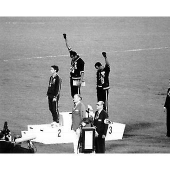 Olympischen Spiele in Mexiko-Stadt - 1968 Plakat Poster drucken