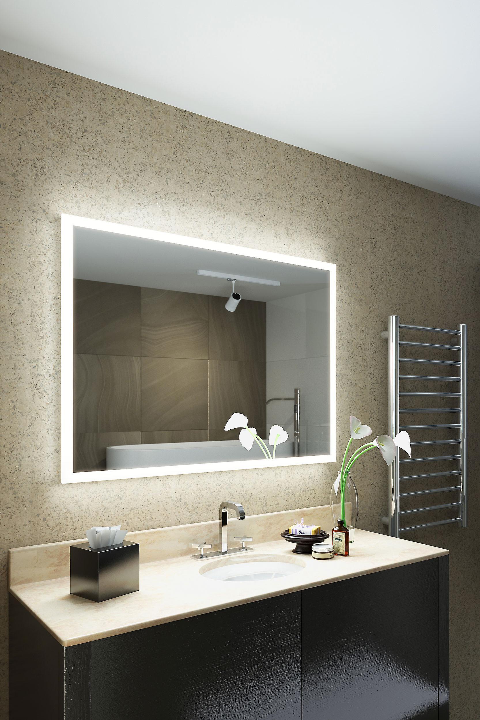 Orli Rasierer Edge LED Badezimmer Spiegel mit Demister & Sensor k1418ih