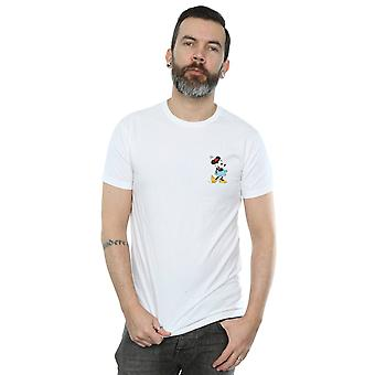 Mannen van de Disney Minnie Mouse Kick borst T-Shirt