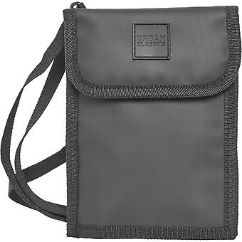 Urban classics - OXFORD coated neck pouch shoulder bag