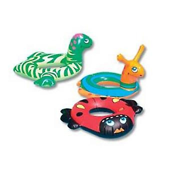 "Swimline 9025 24"" Inflatable Animal Head Rings"