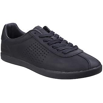 Lambretta Mens Gazzman III Lace Up Casual Fashion Trainers Pumps Shoes