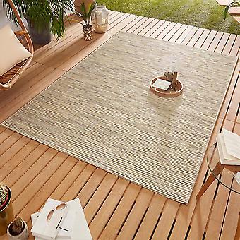 Conception Outdoorteppich Web tapis tissage plat | Crème de lierre or