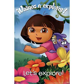 Dora la Exploradora - explorar Poster Print