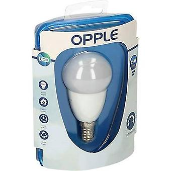 Opple LED A EWG (++ - E) E14 kropla 4 W = 25 W ciepły biały (Ø x L) 48 mm x 95 mm 1 szt.