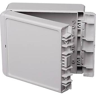Bopla Bocube B 141306 ABS-7035 96033225 Wall-mount enclosure, Fitting bracket 125 x 151 x 60 Acrylonitrile butadiene styrene Grey-white (RAL 7035) 1 pc(s)