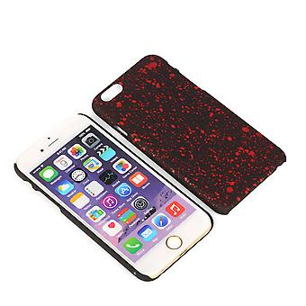 Cell phone cover case bumper shell voor Apple iPhone 6 plus 3D sterren rood