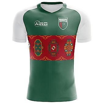2020-2021 Turkmenistan Home Concept Voetbalshirt