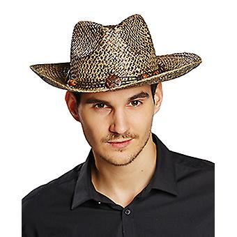 Stroh-Cowboyhut