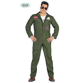Guirca Jet pilot costume for men's fighter pilot Mr costume