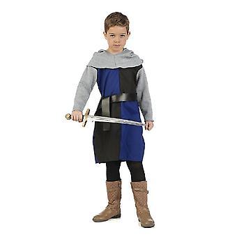 Guerriers jeune écuyer chevalier épée garçons costume costume enfants