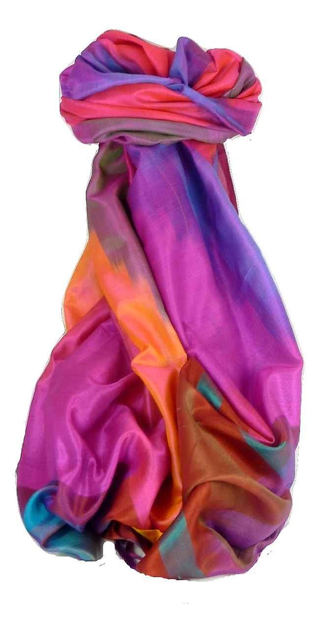 Varanasi Ekal Premium Silk Long Scarf Heritage Range Nath 5 by Pashmina & Silk
