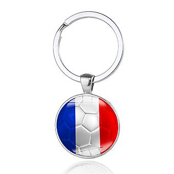 FOOTBALL KEYRING FRANCE
