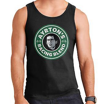 Ayrton Sennas Racing sekoitus Starbucks-Logo miesten liivi